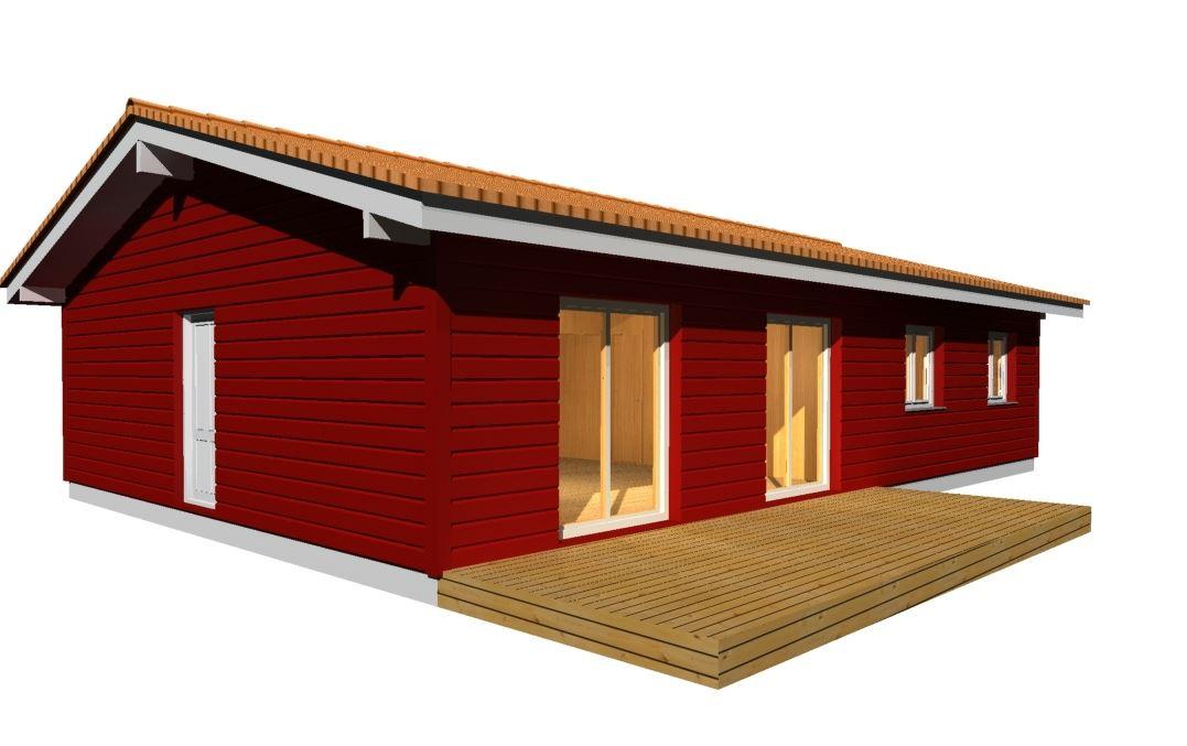 maison bois plen-pied à Prades 66