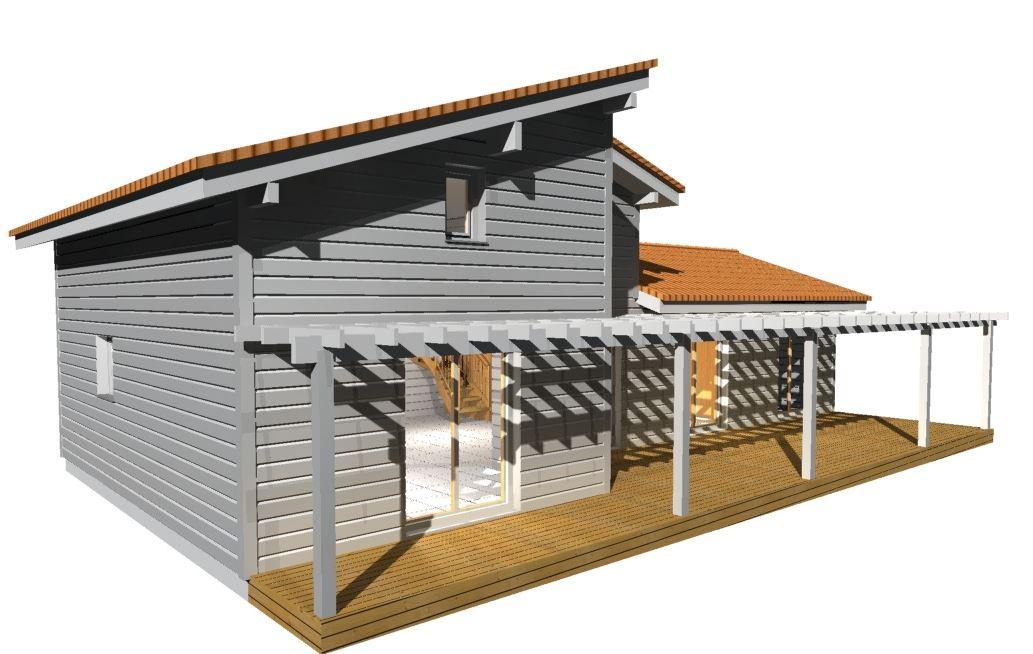 maison bois st laurent cerdans