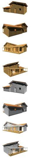 modeles maisons bois