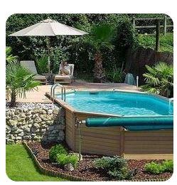pose piscine bois hors sol hérault