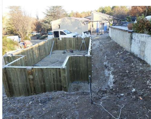 construction piscine bois -2 terrain difficile